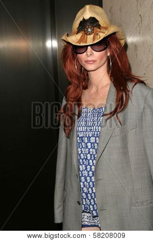 Phoebe Price is issued a subpoena by ATT Wireless to obtain a private videotape from her RingPlus press conference. Kaje, Beverly Hills, CA. 07-02-07