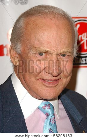 Buzz Aldrin at Rock The Kasbah presented by Virgin Unite. Roosevelt Hotel, Hollywood, CA. 07-02-07