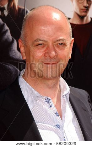 David Barron at the premiere of