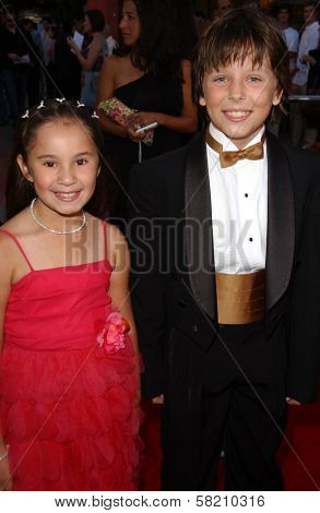 Shelby Adamowsky and Cole Morgen at the World Premiere of