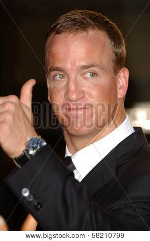 Peyton Manning at the 2007 ESPY Awards. Kodak Theatre, Hollywood, CA. 07-11-07