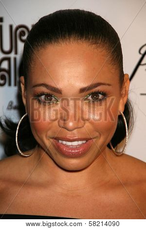 Tisha Campbell at Black Enterprise Magazine's