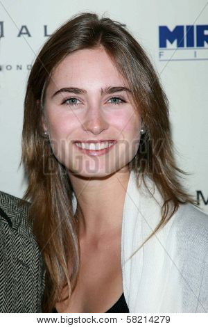 Lauren Bush at the celebration for the Oscar nominated films