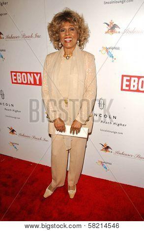 Ja'net DuBois at Ebony's Pre-Oscar Celebration