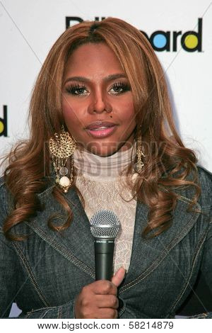 Lil Kim at the press conference to promote Children Uniting Nations Awards Viewing Celebration. Private Location, Los Angeles, CA. 02-23-07