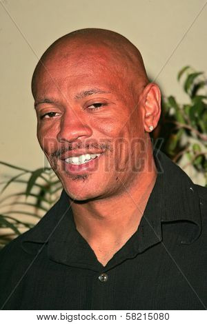 Maurice Green at the Top X Calendar Release Pre-Oscar Party hosted by Denyce Lawton and Wesley Jonathan, Loggia, Hollywood, CA 02-23-07