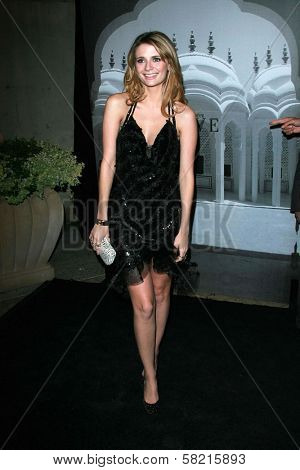 Mischa Barton at the Giorgio Armani Prive Show to celebrate the Oscars. Green Acres, Los Angeles, CA. 02-24-07