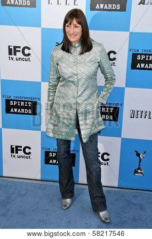 Anjelica Huston at the 2007 Film Independent's Spirit Awards. Santa Monica Pier, Santa Monica, CA. 02-24-07