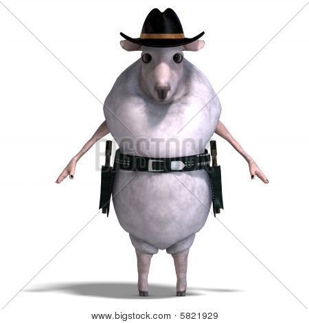 Sheep Of The Wild West