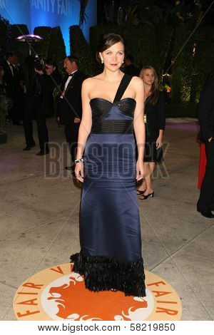 Maggie Gyllenhaal at the 2007 Vanity Fair Oscar Party. Mortons, West Hollywood, CA. 02-25-07