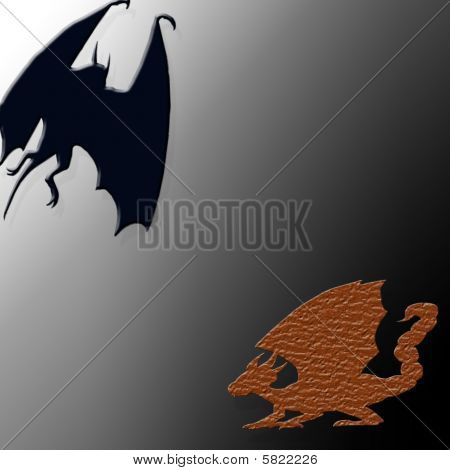 Bat Dragon Halloween
