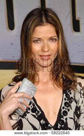 Jill Hennessy at the world premiere of