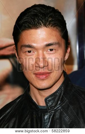 Rick Yune at the Los Angeles premiere of