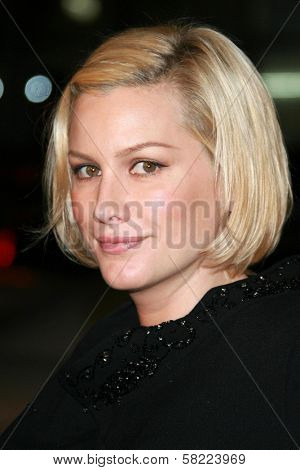 Alice Evans at the Los Angeles premiere of
