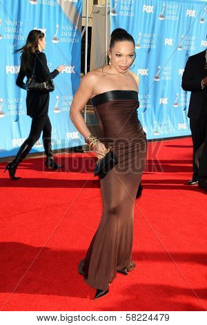 Tisha Campbell at the 38th Annual NAACP Image Awards. Shrine Auditorium, Los Angeles, CA. 03-02-07