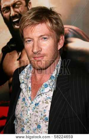 David Wenham at the Los Angeles premiere of