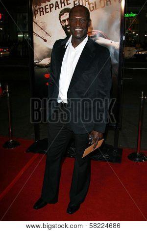 Peter Mensah at the Los Angeles premiere of