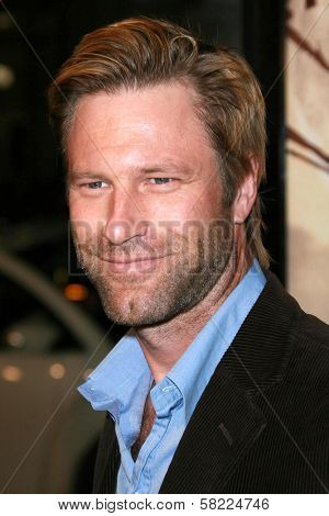 Aaron Eckhart at the Los Angeles premiere of