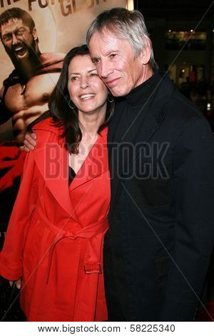 Scott Glenn and wife Carol at the Los Angeles premiere of