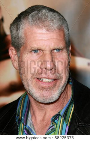 Ron Perlman at the Los Angeles premiere of