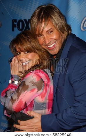 Paula Abdul and friend at the American Idol Top 12 Finalists Party. Astra West, West Hollywood, CA. 03-08-07