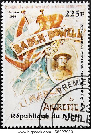 Lord Baden-powell Stamp
