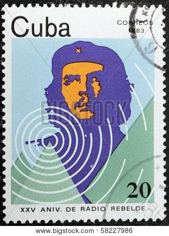 Che Guevara Stamp 1983