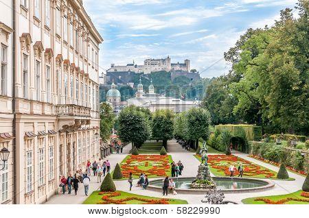 Gardens In Mirabell Palace - Salzburg
