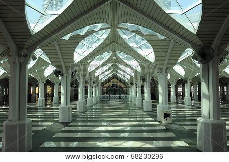 As Syakirin Mosque's Overspill Area