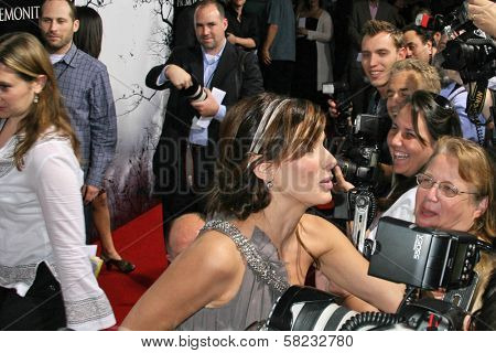 Sandra Bullock at the World Premiere of