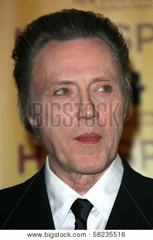 Christopher Walken at the ShoWest 2007 Photocall for