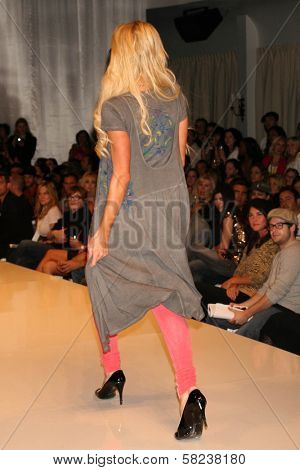 Paris Hilton inside at the 2B Free Fall 2007 Collection Fashion Show. Boulevard 3, Hollywood, CA. 03-19-07