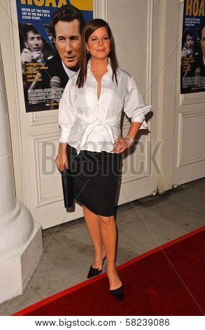 Marcia Gay Harden at the Los Angeles Screening of
