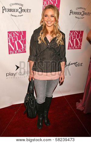Hayden Panettiere at the 2B Free Fall 2007 Collection Fashion Show. Boulevard 3, Hollywood, CA. 03-19-07