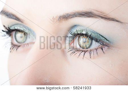 Beautiful Woman's Eyes