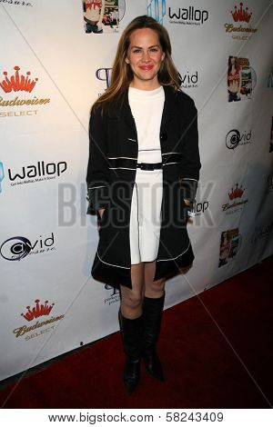 Natalia Livingston at the DVD Release Party for