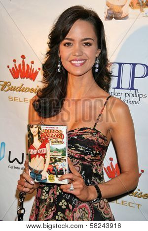 April Scott at the DVD Release Party for