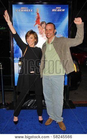 Dorothy Hamill and Brian Boitano at the Los Angeles Premiere of
