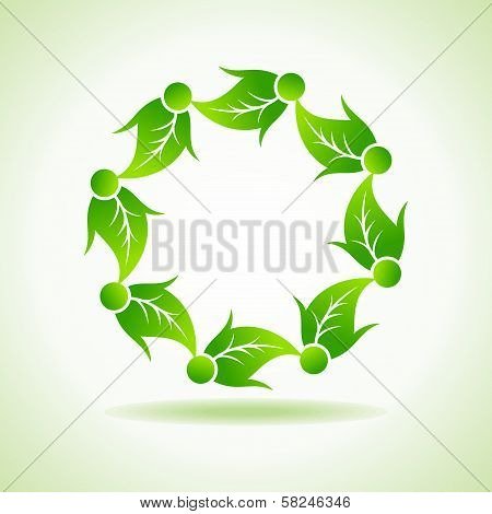 Ecology concept stock vector