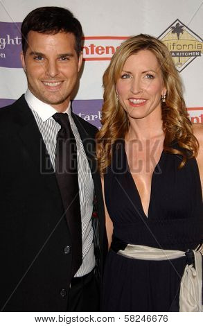 Jonathan Roberts and Heather Mills at Starlight Starbright Children's Foundation's