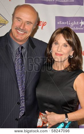 Dr Phil McGraw and Robin McGraw at Starlight Starbright Children's Foundation's