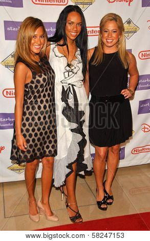The Cheetah Girls at Starlight Starbright Children's Foundation's
