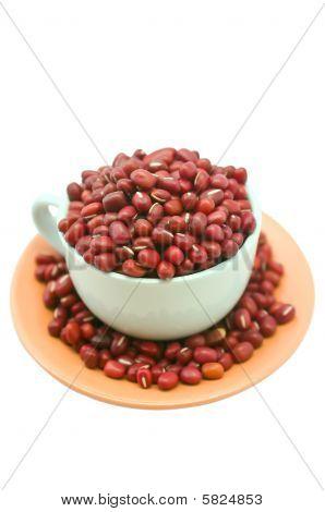 Cup Of Adzuki Beans