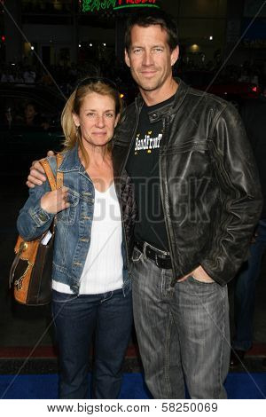 Erin O'Brien Denton and James Denton at the Los Angeles Premiere of