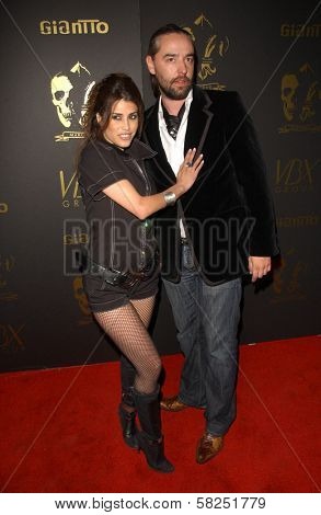 Rachel Sterling and Laurent Planeix at the Los Angeles Runway Debut of Marceau. Boulevard3, Hollywood, CA. 03-29-07