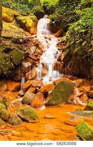 Rusty Waterfall