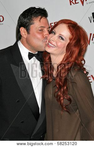 Jeff Rector and Phoebe Price at the Los Angeles Premiere of