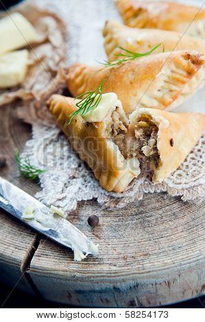 Traditional Polish Fried Pierogi