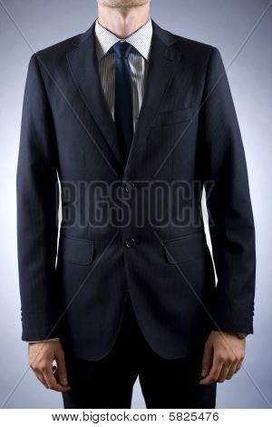 Cortar a imagem de um homem de negócios