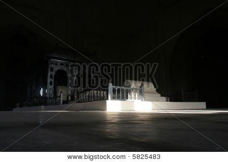 Tombs Inside Gol Gumbaz